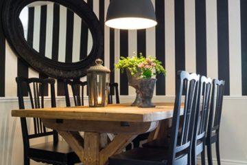 טרנד: פסים שחור-לבן בעיצוב הבית